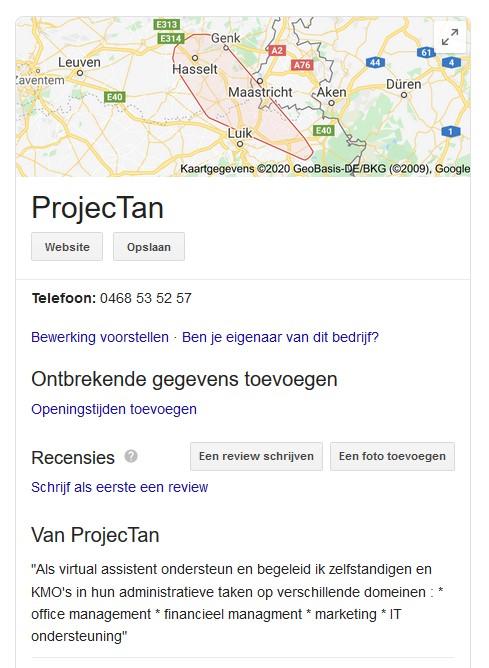 Google Bedrijfsprofiel
